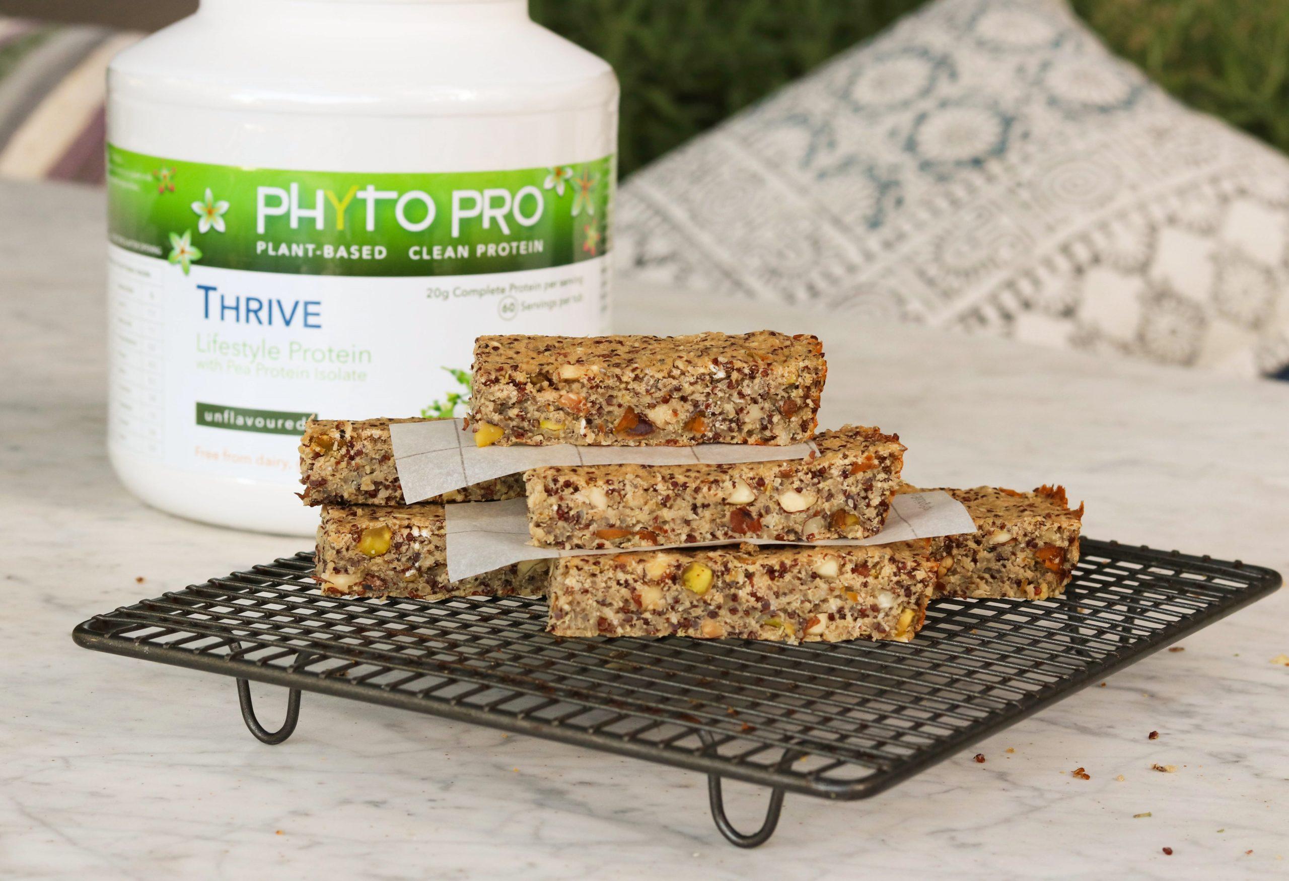 Savoury Quinoa Pea Protein Bar