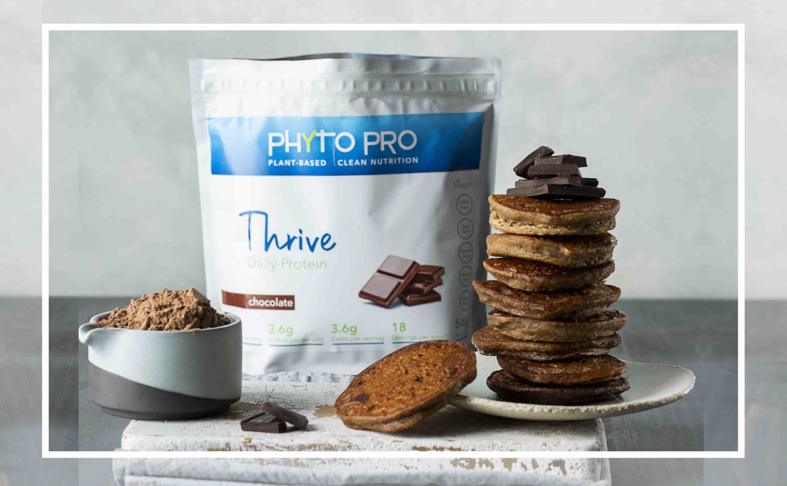 Phyto Pro Chocolate Protein Hotcakes