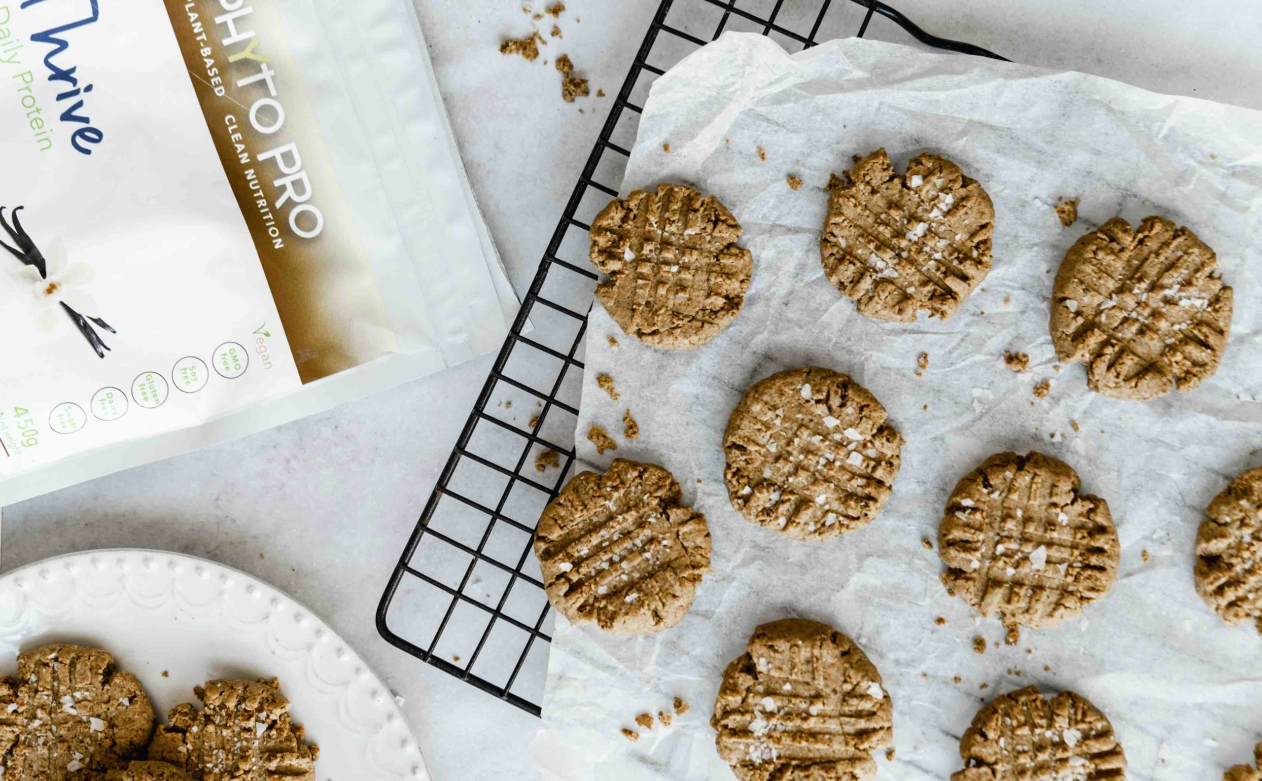 Phyto Pro Salted Macaramel Protein Cookies